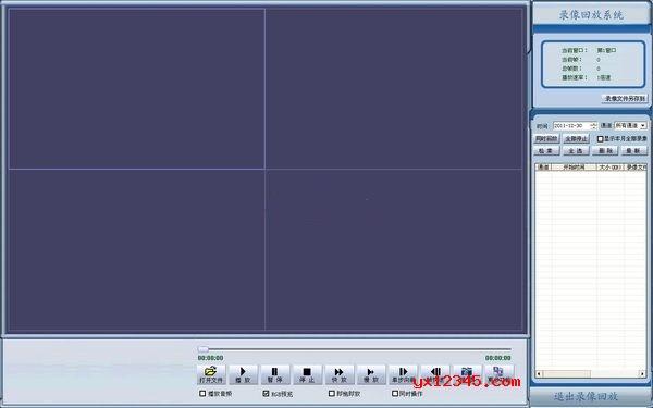 801格式监控视频播放器_JPlayer