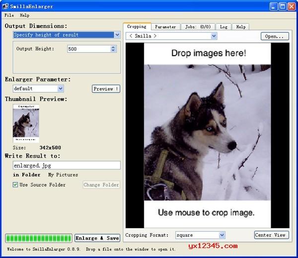 数码相片尺寸放大软件_SmillaEnlarger