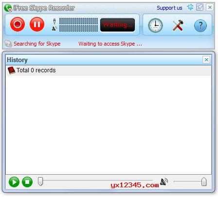 skype语音通话录音软件_iFree Skype Recorder