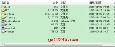 用UISO软件打开CDLinux的ISO文件