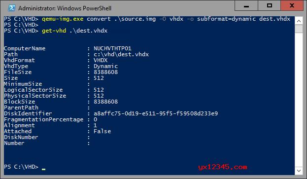 qemu-img 镜像转换工具_虚拟机虚拟磁盘格式转换工具