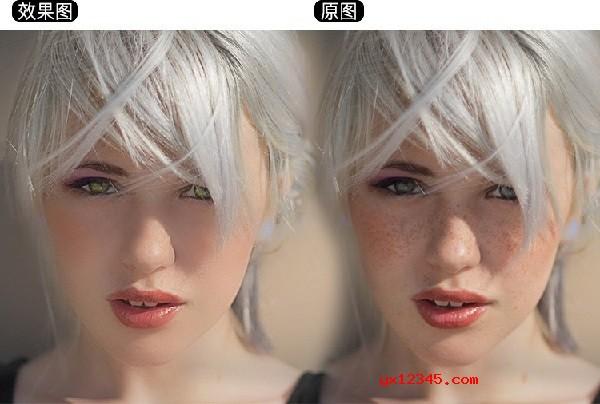 delicious retouch美容磨皮效果欣赏