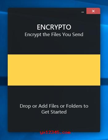 使用Encrypto加密文件/文件夹教程
