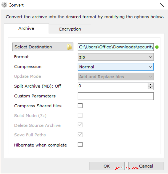 Zipware可以直接从文件上下文菜单计算文件的MD5,SHA-1与SHA-256校验