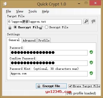 Quick Crypt 软件使用方法