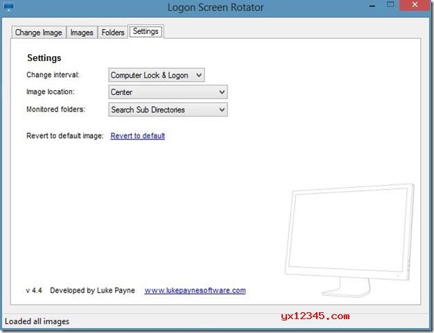 Logon Screen Rotator使用说明