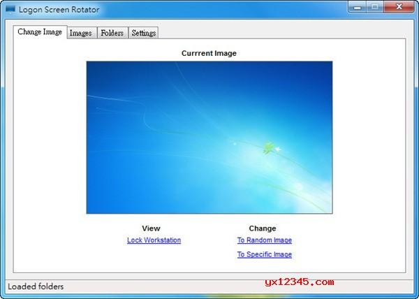 Logon Screen Rotator设置win7、win8登录界面背景教程