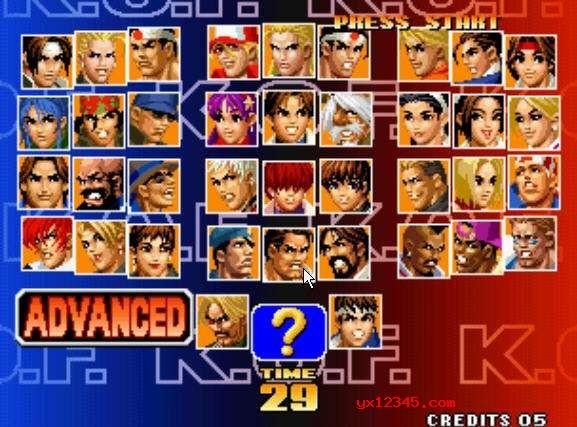 98拳皇下载_自带中文模拟器含全套98拳皇出招表
