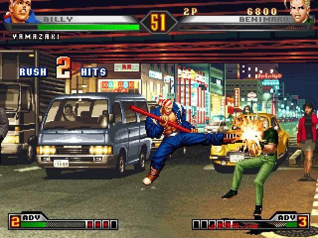98拳皇游戏画面截图二