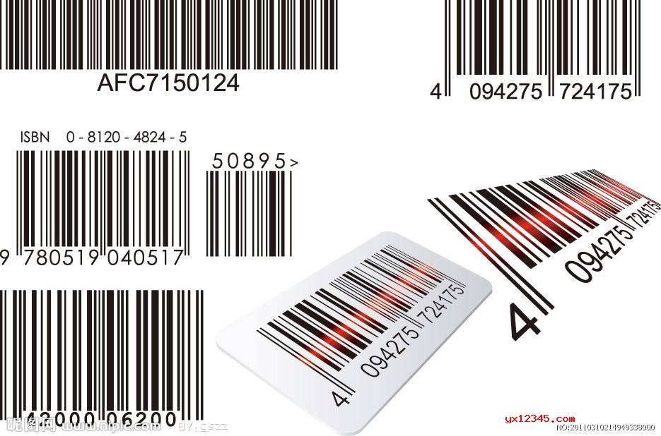 Barcode Producer制作的多种条形码图案欣赏