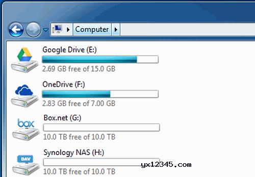 ftp映射本地磁盘工具_NetDrive_将FTP映射成本地磁盘