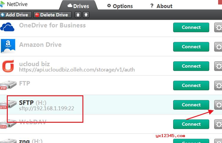 NetDrive映射FTP教程