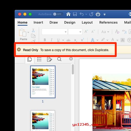 支持Office文件的多用户文件锁定