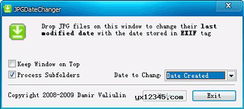 照片拍摄日期修改软件_JPGDateChanger_修改照片属性