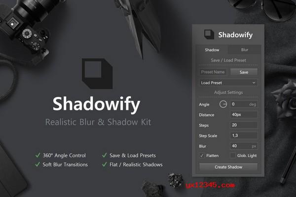 Shadowify投影插件海报