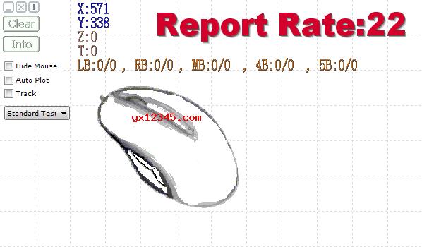 mouse test鼠标测试软件_鼠标DPI测试、按键检测、滚轮检测