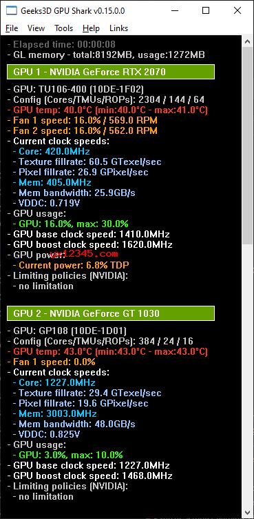 GPU Shark 0.15.0界面截图