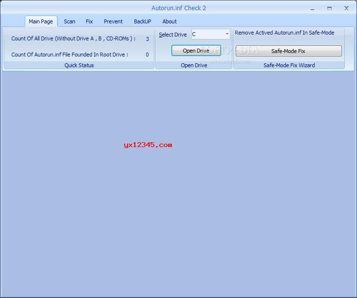 autorun.inf文件删除工具下载