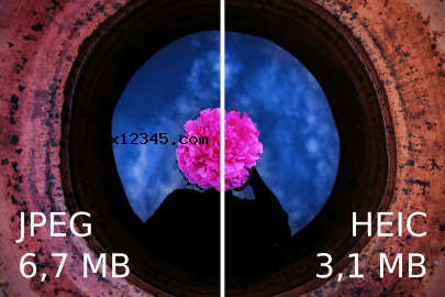 打印HEIC格式图片