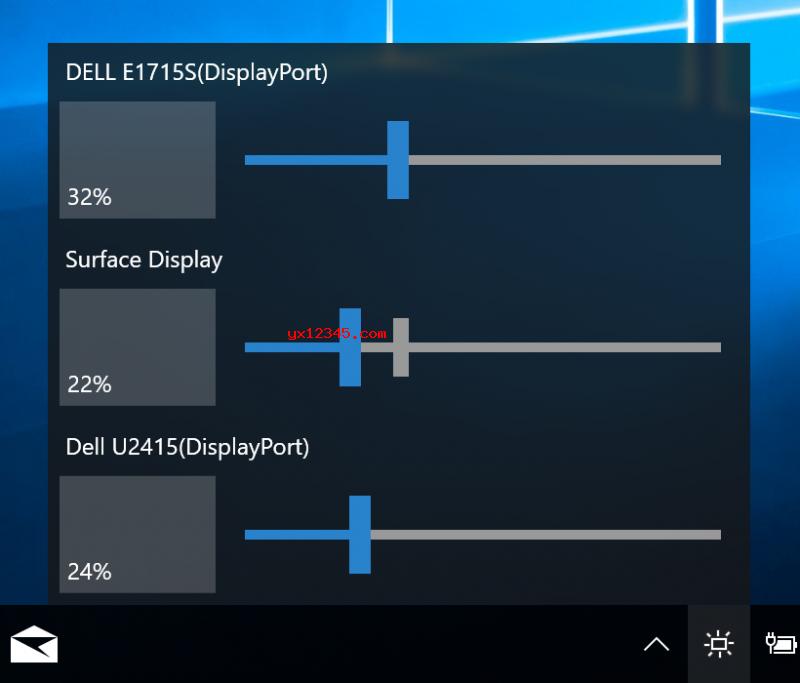 Monitorian多屏幕、多显示器亮度调节工具_快速设置多个显示器
