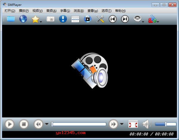 SMPlayer绿色版界面截图