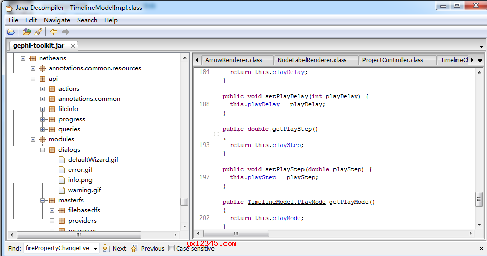 解压后运行jd-gui.exe即可打开软件