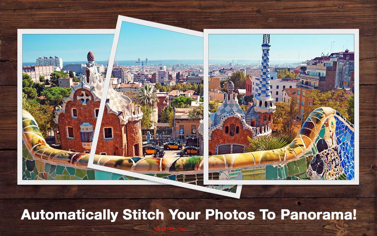 PhotoStitcher软件海报