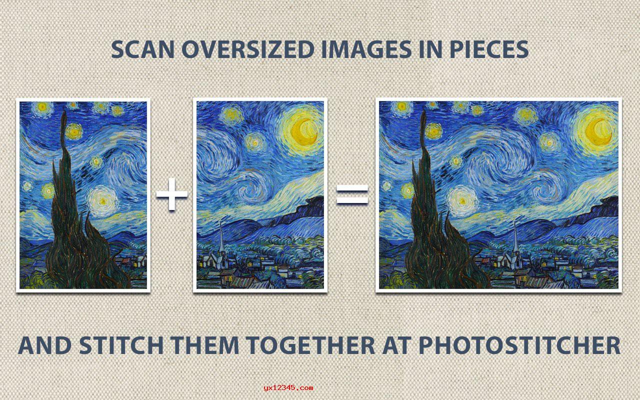 PhotoStitcher拼接合并全景照的原理