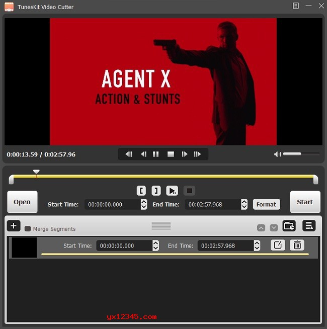 TunesKit Video Cutter 无损分割视频、音乐文件教程