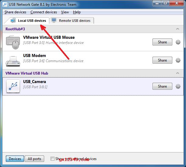 usb network gate使用方法