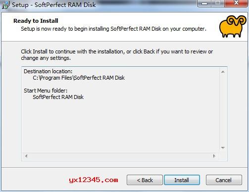 点击install开始正式安装