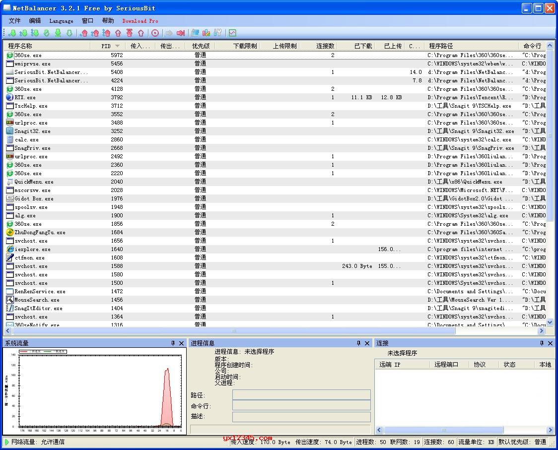 netbalancer汉化破解中文版_电脑流量统计与进程流量管控软件