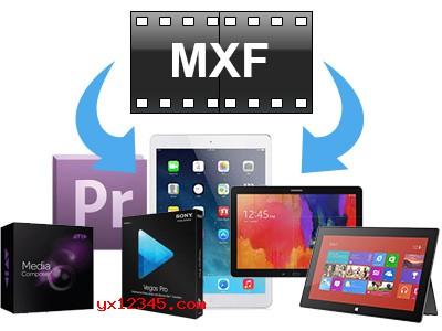 强大的MXF格式视频转换功能