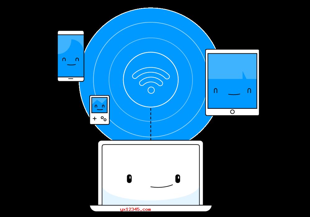 笔记本电脑共享wifi海报
