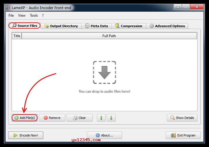 LameXP转换音频文件教程