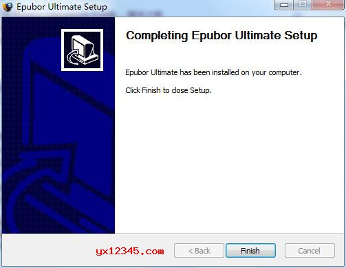 epubor ultimate安装完成