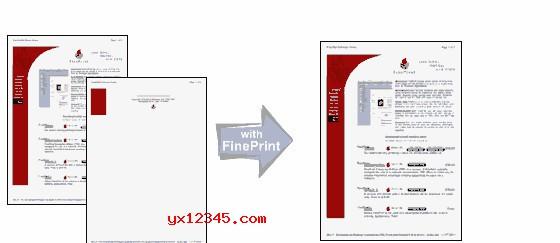 支持双面打印及多面打印