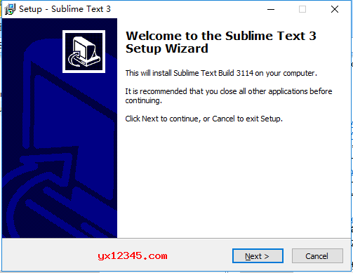 双击Sublime_Text_Build_3211_x64_Setup.exe安装程序开始安装