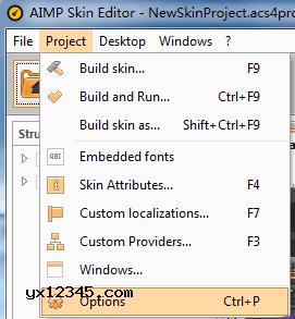 AIMP Skin Editor切换中文界面方法