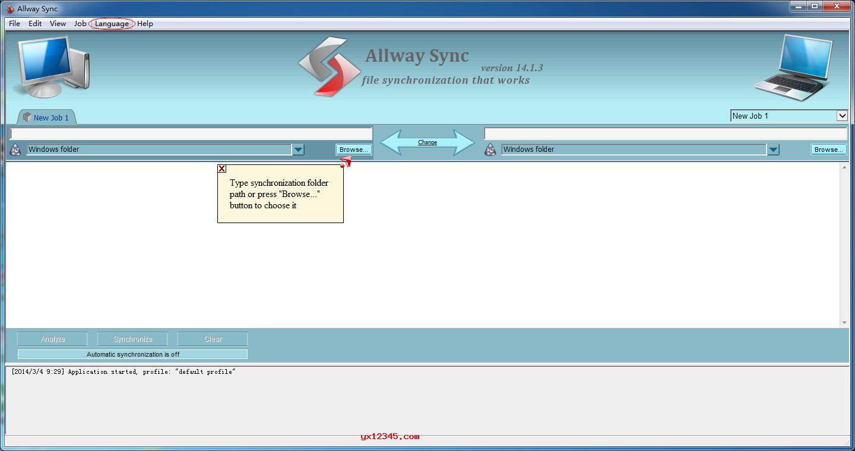 allway sync完整使用教程