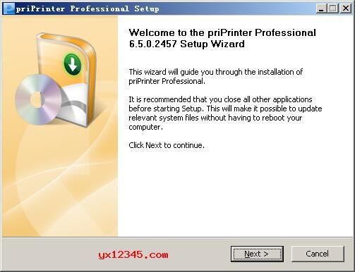 priprinter V6.5.0破解版安装教程