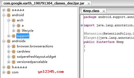 打开反编译出来的文件夹发现文件夹为空,可以通过手动更新lib下的Apktool来解决。