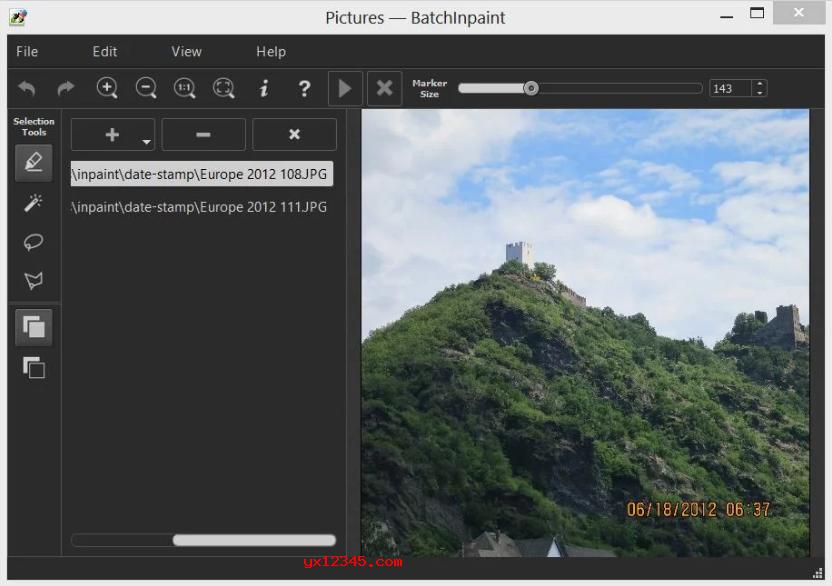 BatchInpaint批量去除图片水印教程