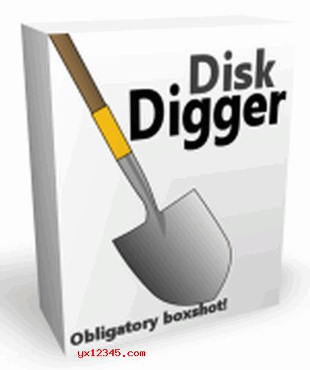 DiskDigger盒装海报