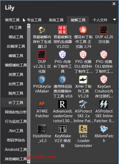 Lily桌面图标管理与快速启动工具_类似rolan的快捷启动工具