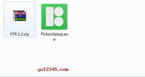 Pichon图标素材库8.6安装教程