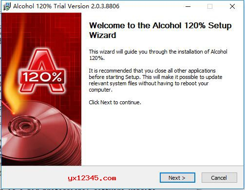 Alcohol 120%中文破解版安装方法