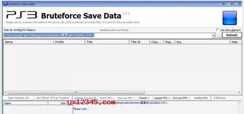 Bruteforce Save Data修改ps3游戏存档教程