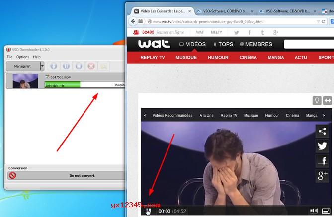 vso downloader下载网页视频效果展示