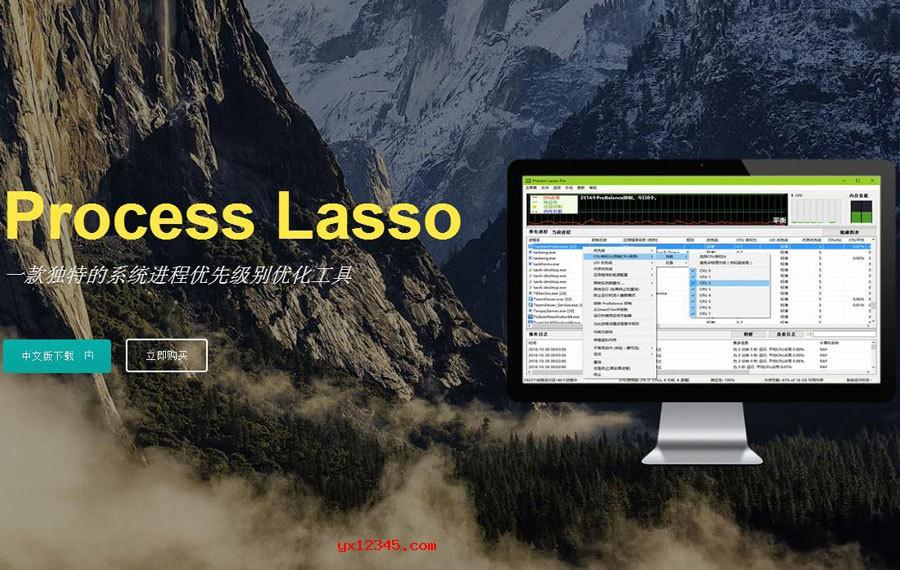 Process Lasso软件海报